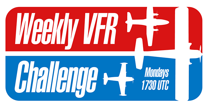 Weekly VFR Challenges on PilotEdge